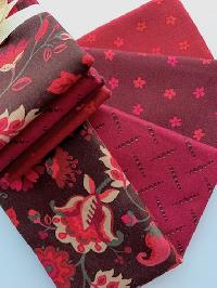 Simply Red - Fat Quarter Pack