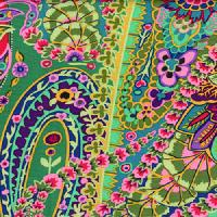 Kaffe Fassett Paisley Jungle GP60 - GREEN