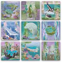 Complete Pattern Set - Sea Breeze